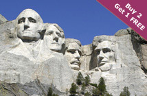 Yellowstone–Mt. Rushmore 7 Day (SC)
